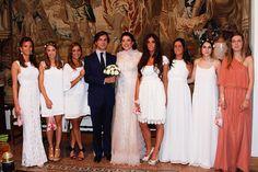 La boda de Mariana de Fontcuberta, Marquesa de Marianao.Una novia YolanCris muy especial.  #yolancris #YCnovias #bodasreales #noviasreales