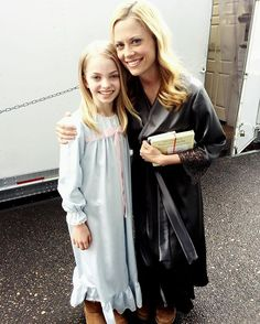More of the wonderfully talented Hannah Loyd aka MY DIANA on #grimm, where things are getting COMPLICATED. Here we are in simpler times, hanging around the house in silk pjs as normal people do.