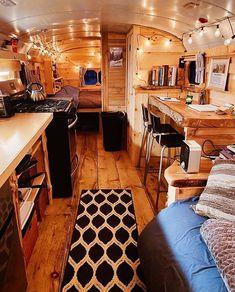 59 Amazing Caravan Interior Design Ideas- 2020 - Page 14 of 59 - coloredbikinis. com - Wohnwagen Bus Living, Tiny House Living, Gypsy Living, Pop Up Shop, Travel Trailer Living, Converted School Bus, Cozy Living Spaces, Camper Makeover, Caravan Renovation