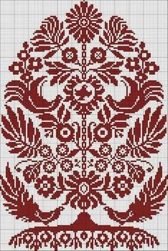 Cross stitch Pattern Ukrainian Embroidery Wedding Towel Rusnyk Napkin Pillow 4 r Embroidery Sampler, Folk Embroidery, Cross Stitch Embroidery, Embroidery Patterns, Cross Stitch Tree, Cross Stitch Samplers, Cross Stitching, Cross Stitch Designs, Cross Stitch Patterns
