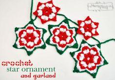 Crochet Star Ornament - Free Crochet Pattern