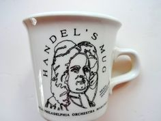Vintage Handel's Coffee Mug 1980s by WylieOwlVintage on Etsy, $14.00