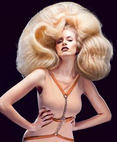 attack of the killer wigs! Big Blonde Hair, Bad Hair, Blonde Updo, Wig Styles, Long Hair Styles, Bouffant Hair, Teased Updo, Beehive Hair, Hair Shows