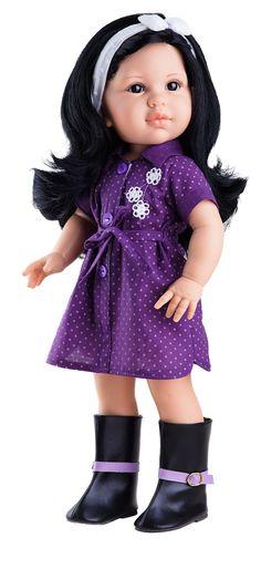 2d850371d65035 Realistická panenka Lina od firmy Paola Reina Vinyl Dolls