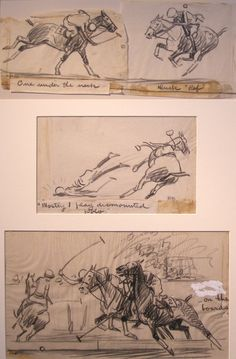 Polo Studies by Paul Brown