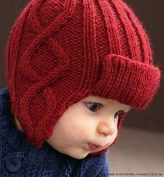 New crochet clothes winter beanie pattern ideas Crochet Baby Clothes Boy, Baby Boy Knitting, Crochet Kids Hats, Knitting For Kids, Knitted Hats, Baby Hat Patterns, Baby Knitting Patterns, Clothes Patterns, Knitting Ideas