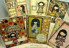 CHECK OUT these great new stamp sets now in the online store! Journalling, Stamp Sets, Journal Cards, Stamps, January, Inspired, News, Check, Artwork