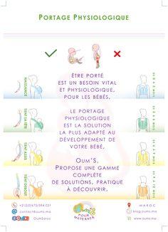 Oum S la marque spécialiste de porte bébé physiologique, made in Morocco,  vous explique les 919b6a67d4c