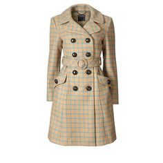This may be one of the cutest coats I've ever seen. You need to look at it on zoom on the original website; the color is much richer - the little image doesn't do it justice.