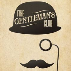 The Fine Gentlemans Club - Live at Comedy Works (Vinyl). Great logo.