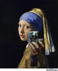 Modern Girl with a Pearl Earring