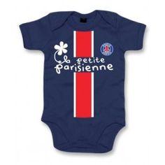Body bébé Fille Psg La Petite Parisienne - PETIT DEMON 73f5c52f774