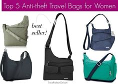 As you hit the road this summer, safety is a concern. We've rounded up the top 5 anti-theft travel bags for women based on the TFG readers' top picks.