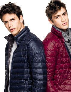 Benetton Superlight jackets... Benetton, Cool Jackets, Winter Jackets, Men's Jackets, Pvc Raincoat, Preppy Look, Man In Love, Hot Boys, Casual Looks