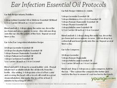 Essential oils for ear ache ear infections