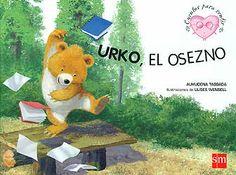 Urko, el osezno, es un oso pequeño y nervioso. Le cuesta prestar atención en la escuela y respetar a los animales del bosque cuando juegan. Un cuento sobre la HIPERACTIVIDAD que incluye una ficha para padres.