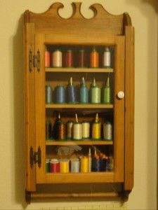 Great Embroidery Thread Storage Idea.