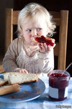 Glynnis Mara insists on jam at all her tea parties. She is my yummy... so she…