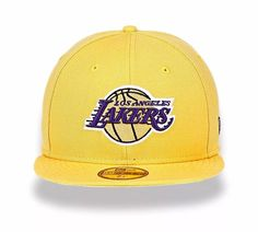 Bone New Era Nba 5950 Los Angeles Lakers Original Tam M no Mercado Livre  Brasil da6f0c25287