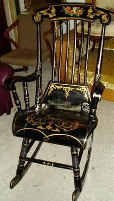 painted rocking chair - Google Search