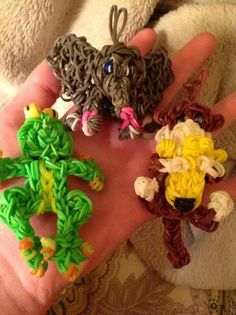 Rainbow Loom Animal Charm INSPIRATION {no link}
