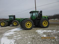 2 460hp John Deere 9460Rs