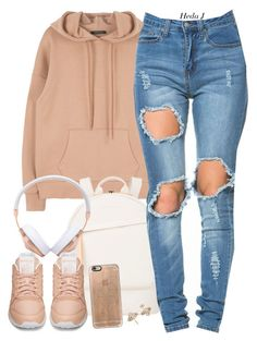 they. by justice-ellis on Polyvore featuring polyvore fashion style Reebok Want Les Essentiels de la Vie Dean Harris Casetify Frends clothing hedaj