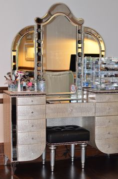 Vanity, Matching Bedroom Set, French Vanity, Luxury Vanity, Makeup Vanity