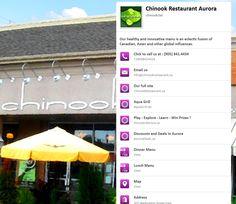Chinook Restaurant Aurora Ontario is in the Discover Aurora game www. Win Prizes, Ontario, Aurora, Innovation, Restaurant, Game, Venison, Restaurants, Gaming
