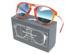 2161673c6d4b0c Steve McQueen Persol 714-SM 96 S3 Light Havana Polarized Sunglasses