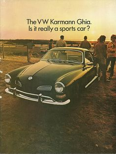 1969 VW Karmann Ghia brochure