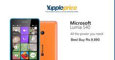 Microsoft Lumia 540 | 8 GB + 128 GB Expandable | Dual SIM Bank Offer Extra 5% off* on Axis Bank Buzz Credit Cards #microsoftlumia #lumiaphone