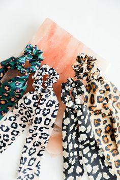Tween Girl Gifts, Tween Girls, Leopard Hair, Diy Slime, Scrunchies, Savannah Chat, Floral Tie, Dots, Hair Accessories
