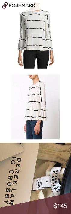 e150ca2cf09ca1 Derek Lam 10 Crosby Striped Bell sleeve Blouse NWT Beautiful blouse by Derek  Lam 10 Crosby