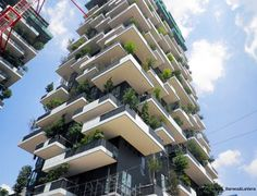 New Photos Show 'Bosco Verticale' Vertical Forest Nearing Completion in Milan | Inhabitat - Sustainable Design Innovation, Eco Architecture, Green Building