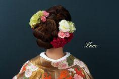 Wig Hairstyles, Wedding Hairstyles, Hair Arrange, Locks, Wigs, Hair Beauty, Crown, Hair Styles, Japanese Hairstyles