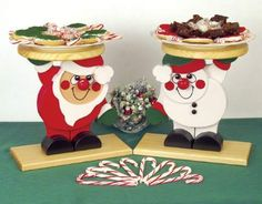 Santa & Snowman #Christmas Server Set