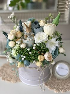 Beautiful Flower Arrangements, Floral Arrangements, Beautiful Flowers, Easter 2021, Easter Flowers, Candle Centerpieces, Easter Crafts, Happy Easter, Diy And Crafts