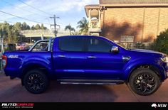 FORD RANGER ASSAULT GLOSS BLACK MILLED ACCENTS 1