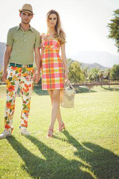 #mrturk Mr Turk Donavan Polo + Poppy Print Gerard Trouser + Trina Turk Orange Dress In Palm Springs!