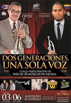 Luis Perico Ortiz e Yturvides Vílchez, Dos generaciones…una sola voz
