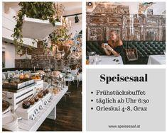 Lokal, Table Decorations, Austria, Furniture, Home Decor, Travel, Diner Menu, Graz, Viajes
