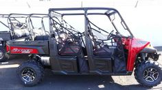New 2014 Polaris Ranger Crew 900 EPS Sunset Red LE ATVs For Sale in Arizona. 2014 Polaris Ranger Crew 900 EPS Sunset Red LE, <br> 2014 Polaris® Ranger Crew® 900 EPS Sunset Red LE Hardest Working, Smoothest Riding <br><p> The all-new Polaris ProStar 900 engine features 60 HP, pumping out incredible, class-leading torque and pulling power.</p> Features May Include <br><ul> <li> ProStar 900cc engine with 60 hp</li> <br> <li> Engine located under box for quieter ride</li> <br> <li> Drivetrain…