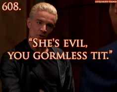Spike's insults