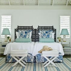 Caribbean Classic - Our 60 Prettiest Island Rooms - Coastal Living