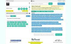 The Parade es un nuevo sitio para crear playlists musicales y escucharlas desde nuestro navegador. Se nutre de los bancos de música de YouTube y Sondcloud.
