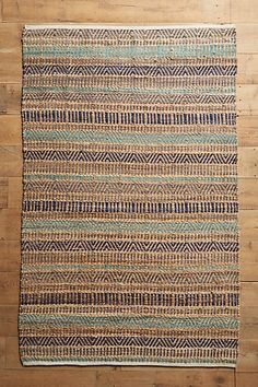 3x5' ($98) 6/15 wool & jute Suna Rug #anthropologie