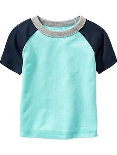 Color-Block Tees for Baby | Old Navy
