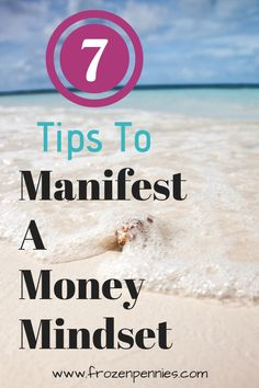 The power of positive thinking can create the life you want. Check out the amazing tips to master a money mindset and help you save money, make money, and be debt free, Manifest your dreams to be a millionaire! Ways To Save Money, How To Make Money, Budgeting Finances, Budgeting Tips, Manifesting Money, Financial Peace, Change Your Mindset, Money Today, Starting Your Own Business