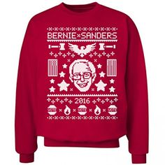 Bernie Sanders Ugly Christmas Sweaters – Ugly Sweaters By City ...